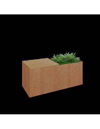 OFYR Herb Garden Bench Corten HG-B