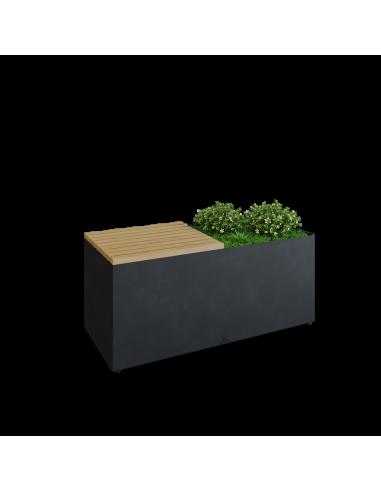 OFYR Herb Garden Bench Black HG-BB