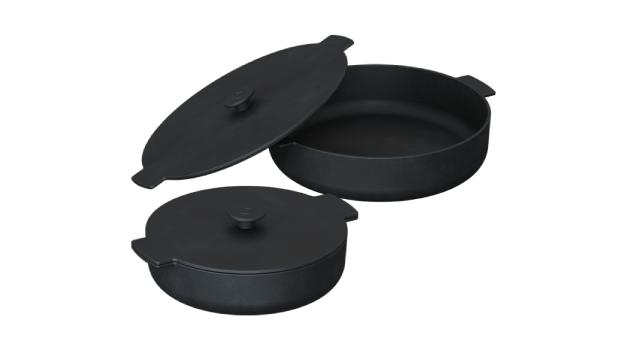casseroles en fonte