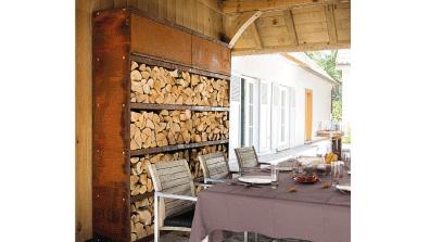 armoire stockage bois